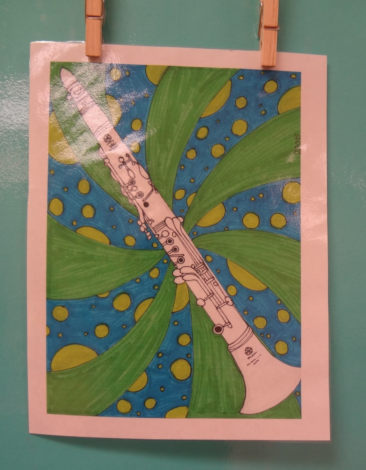 Op art uses color to create - 5th Grade Contour Instruments I Can Create A Contour Line Drawing Of An Instrument I Can Recognize Op Art And The Work Of Bridget Riley And Victor
