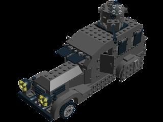 Composición realizada por Emiliano M. de Dios con LEGO® Digital Designer