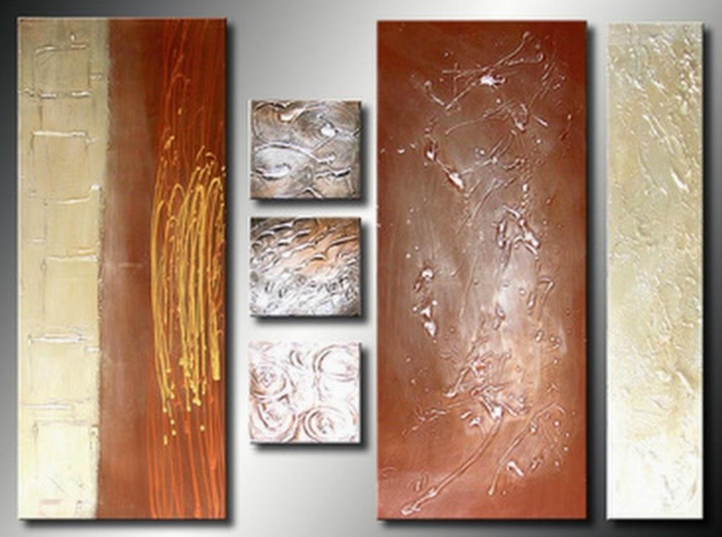 Cuadros modernos pinturas y dibujos tripticos abstractos - Pintura cuadros modernos ...