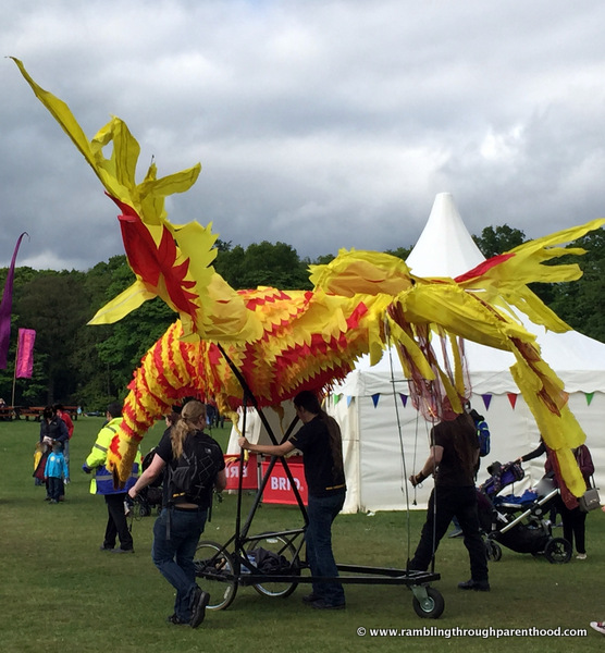 A carnival atmosphere at Geronimo