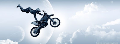 Couverture facebook Motocross HD