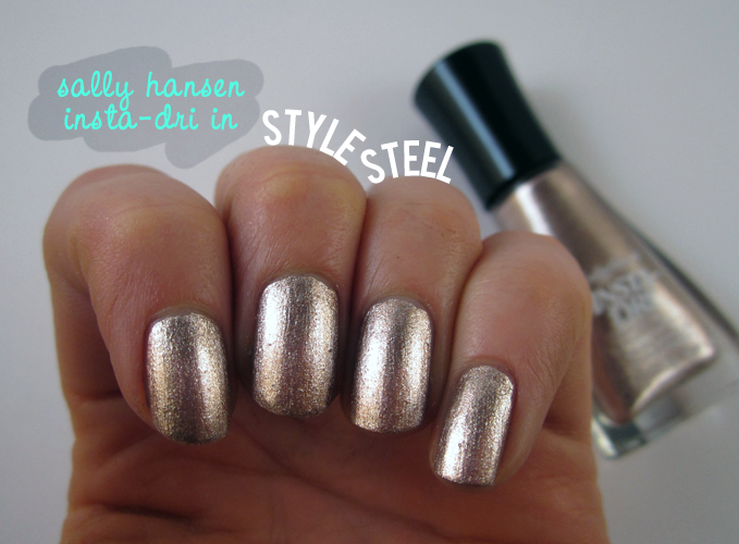 Nail Polish in Style Steel