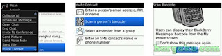 Invite Teman dengan Scan Barcode