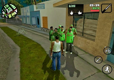 Grand Theft Auto: San Andreas 1.05 APK + DATA