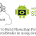 How to Build PhoneGap Project with AndroidStudio In using Gradle Build
