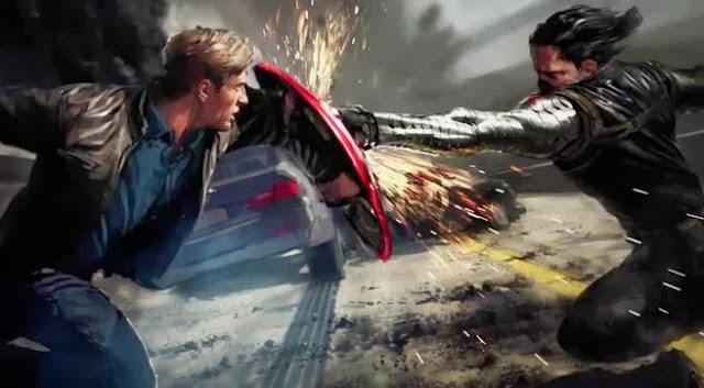 Capitão América 2 O Soldado Invernal - Veja o primeiro trailer do filme!