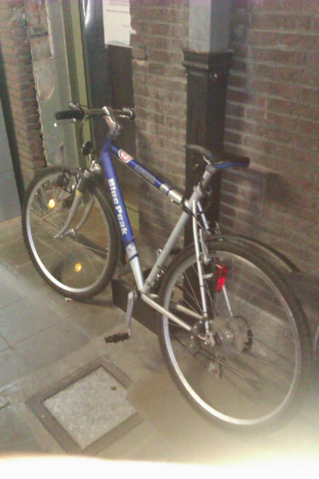 Bike in Station in Limburg
