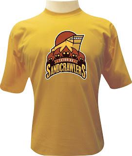 Camiseta Tatooine Sandcrawlers