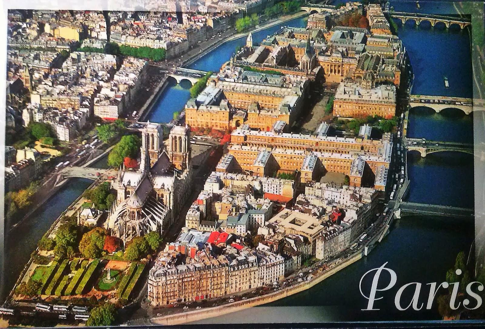 Mi Coleccin De Tarjetas Postales La Isla De La Cit Francia