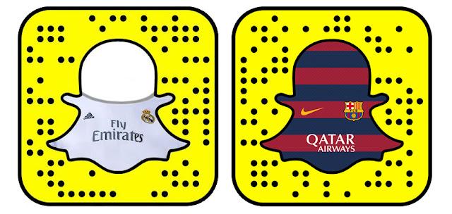 SnapChat aprovechó El Clásico para fichar a Madrid y Barça