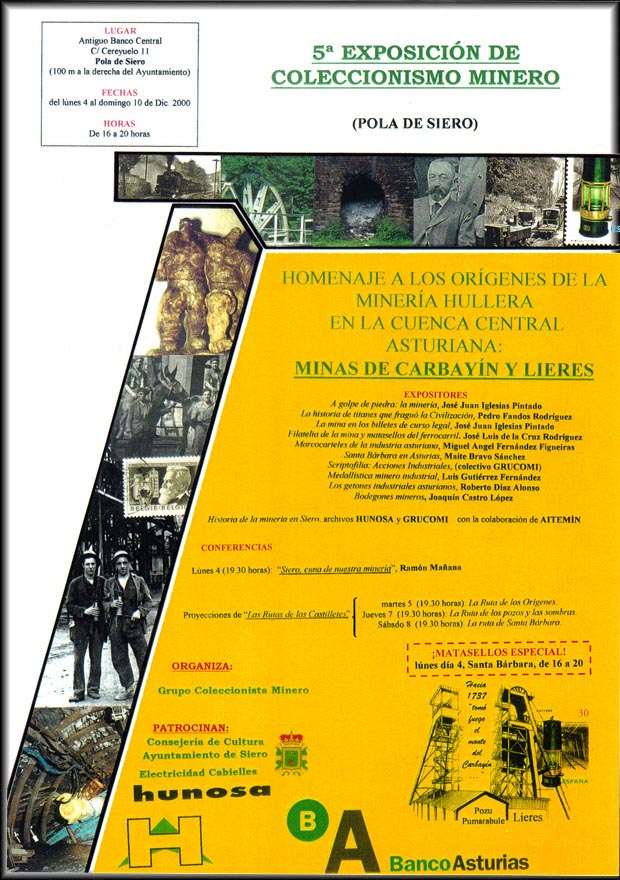Cartel de la exposición de Grucomi en Pola de Siero