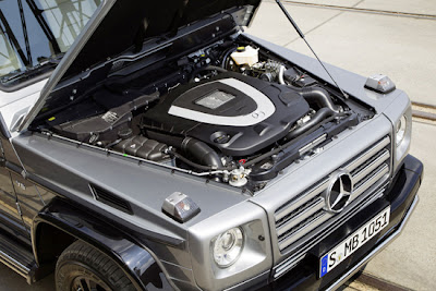 Mercedes g500 Review Engine.