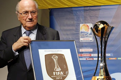 FIFA''s president Blatter on  African league