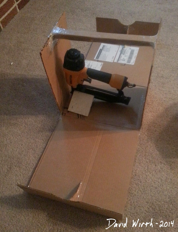 cardboard template, tool box, folding, case