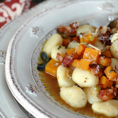 Gnocchi with Butternut Squash and Sage