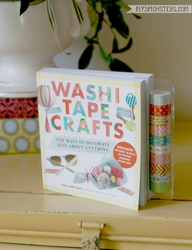Washi Tape Crafts Book Review at my3monsters.com