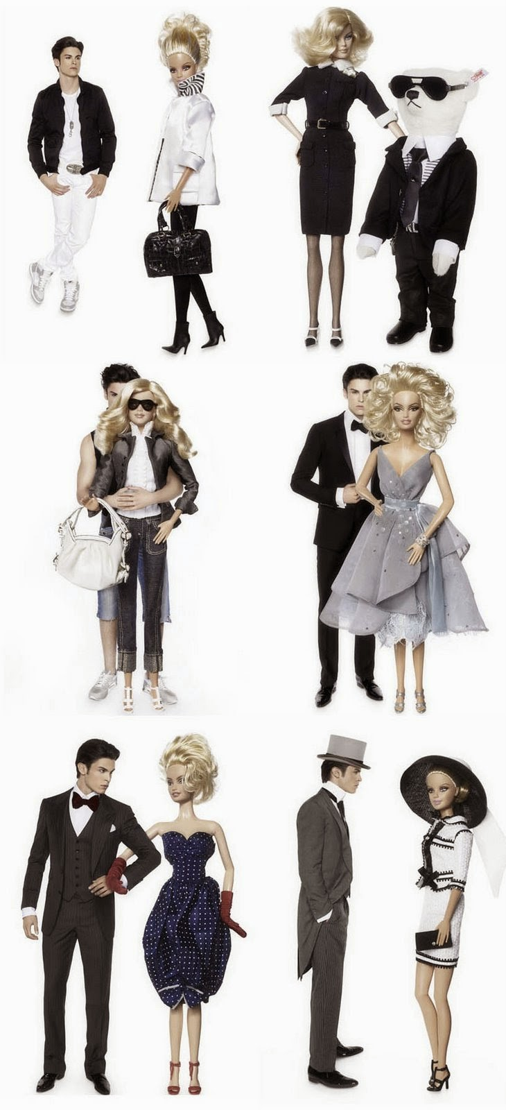Barbie Gets New Style by Karl Lagerfeld ~ Modernistic Design