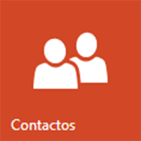 filtrar contactos en  Outlook