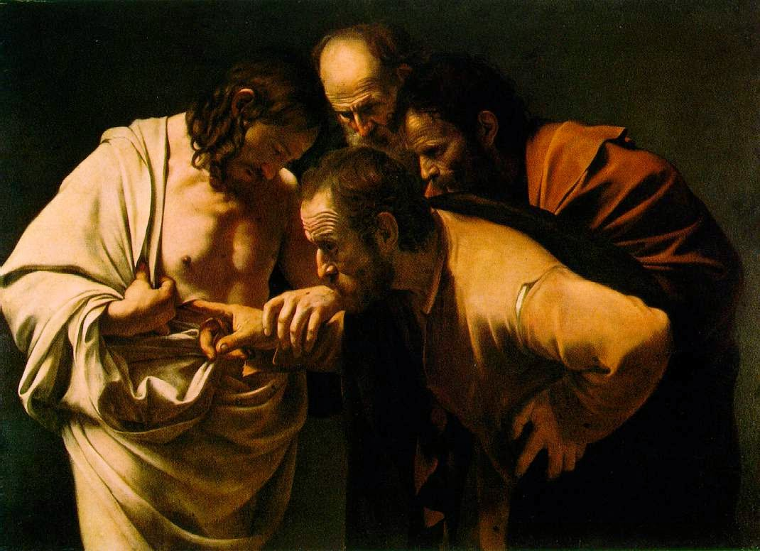 http://commons.wikimedia.org/wiki/File:The_Incredulity_of_Saint_Thomas_by_Caravaggio.jpg
