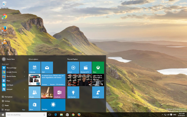 Microsoft launches Windows 10
