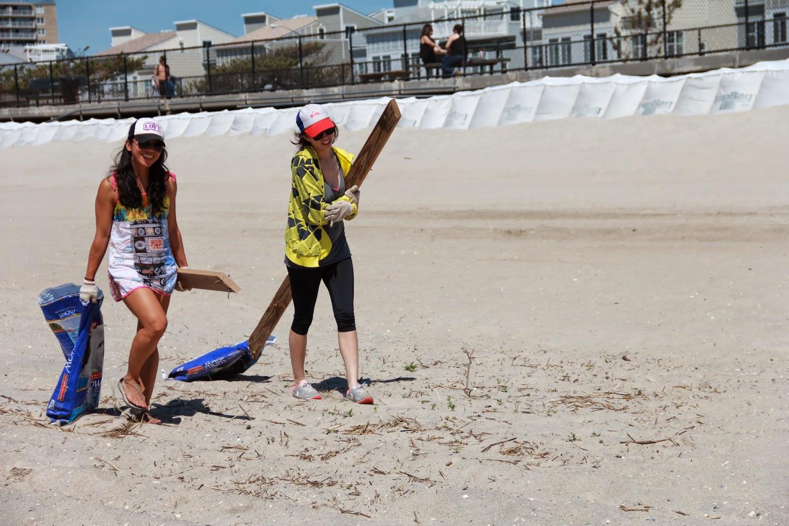 rockaway beach cleanup