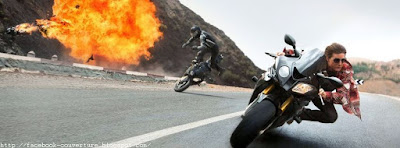 Couverture pour journal facebook Mission Impossible 5