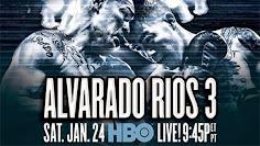 Who wins the rubbermatch between Mike Alvarado & Brandon Rios Saturday night in Colorado on HBO?