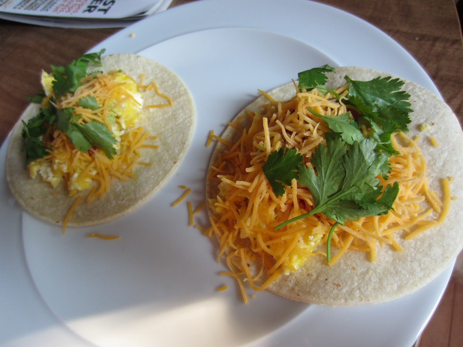 Cook Scrap Craft: Real Simple Scrambled Egg Tacos