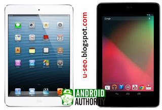 iPad Mini VS Google,ipad mini vs google nexus 7,ipad mini vs google nexus 7 vs kindle fire