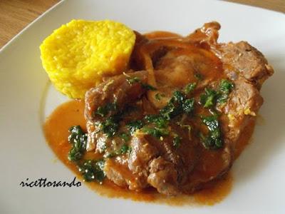 Ossobuco con gremolada ricetta tradizionale di carne