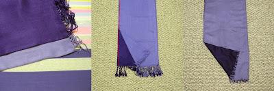 pashmina, infinity scarf, winter, DIY, sewing tutorial