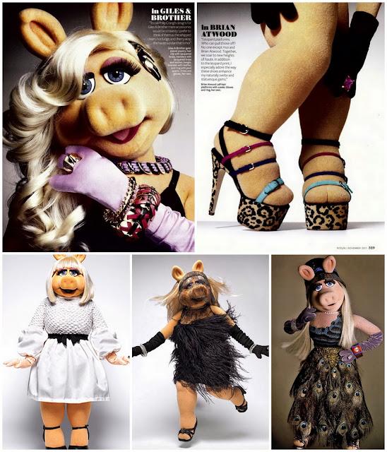 Muppets miss piggy full body