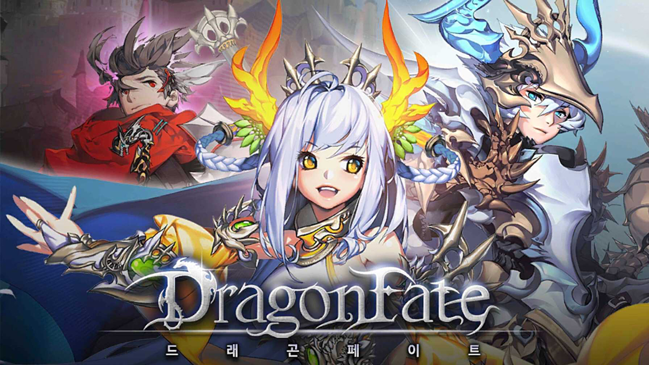 Dragon Fate (드래곤페이트) Gameplay IOS / Android