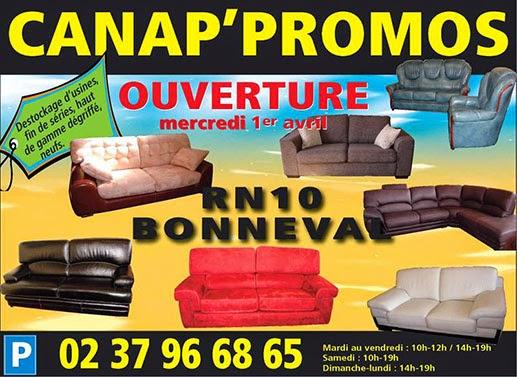 Le magasin de d stockage canap promos bonneval les magasins d 39 usine en france - Liste des magasins d usine en france ...