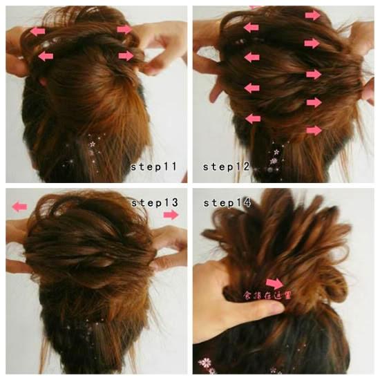 Cara Mengikat Rambut Ala Korea   Black Hairstyle and Haircuts