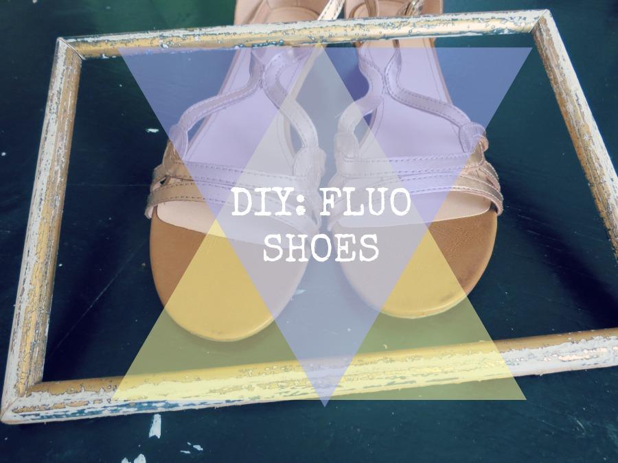 DIY: Fluo Shoes