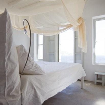 Casa katrine: det hvide soveværelse