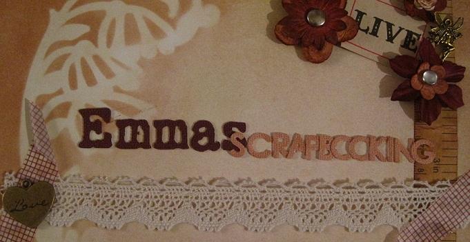 Emmas scrapbooking
