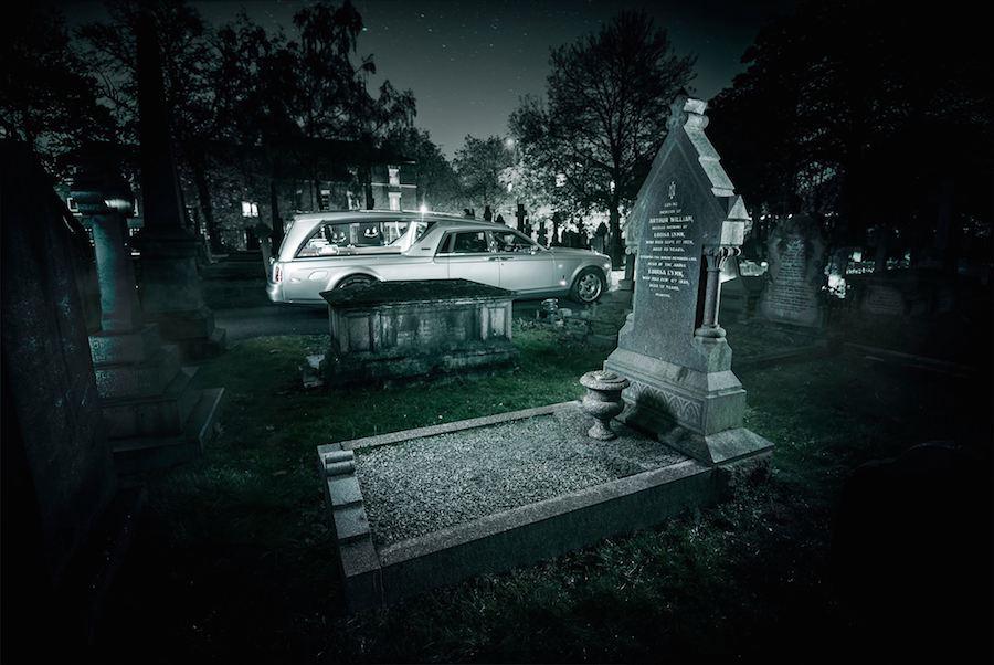ロールスロイス 霊柩車