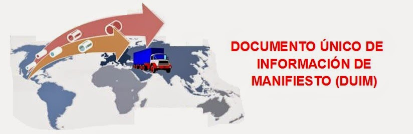 documento unico de informacion de manifiesto
