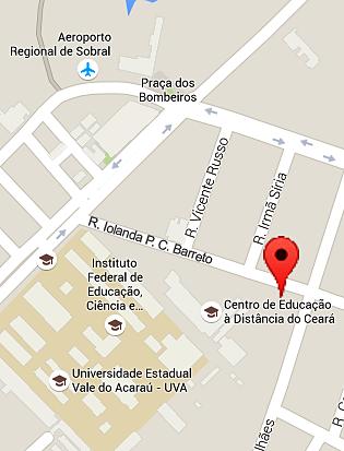 Localização do CED