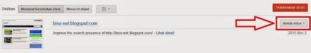 Cara Mudah Daftar Di Google Webmaster Tools
