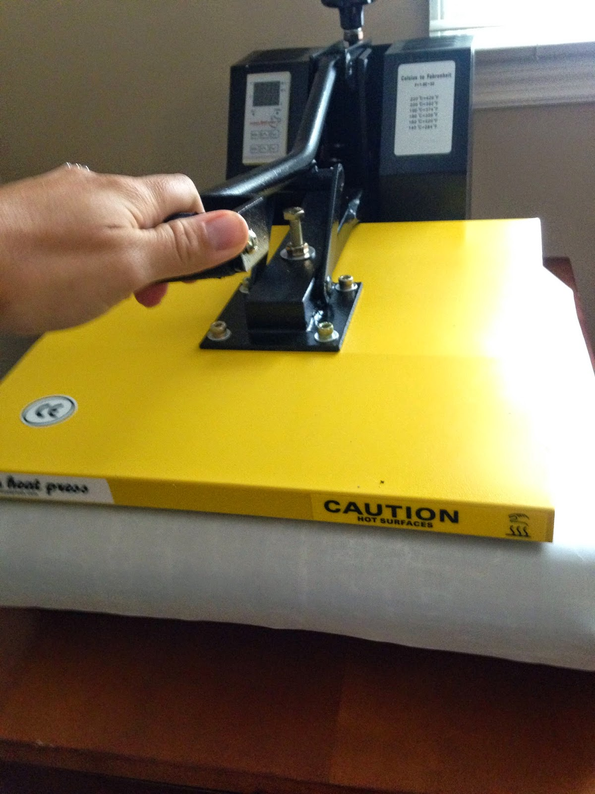 how to use a heat press machine step by step