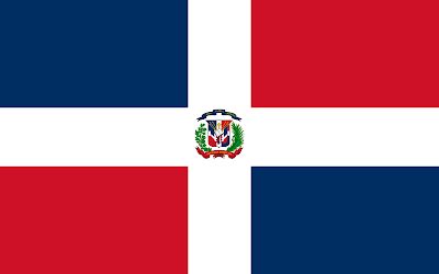 National Flag of Dominican_Republic
