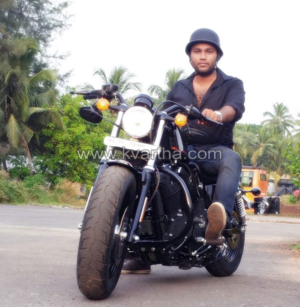 Kochi, Business, Bike, Umer Nizar, Kasaragod, Harley Davidson, Bike, Motor Cycle, Disc Brake, Kochi,