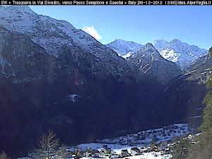 Webcam Ossola Sempione Live Cam Montagna Neve