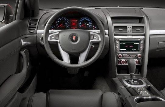 2015 Pontiac G8 GT interior