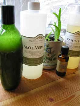 DIY Rosemary Shampoo