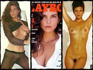 Cristiana Oliveira na Revista Playboy Fevereiro de 1992