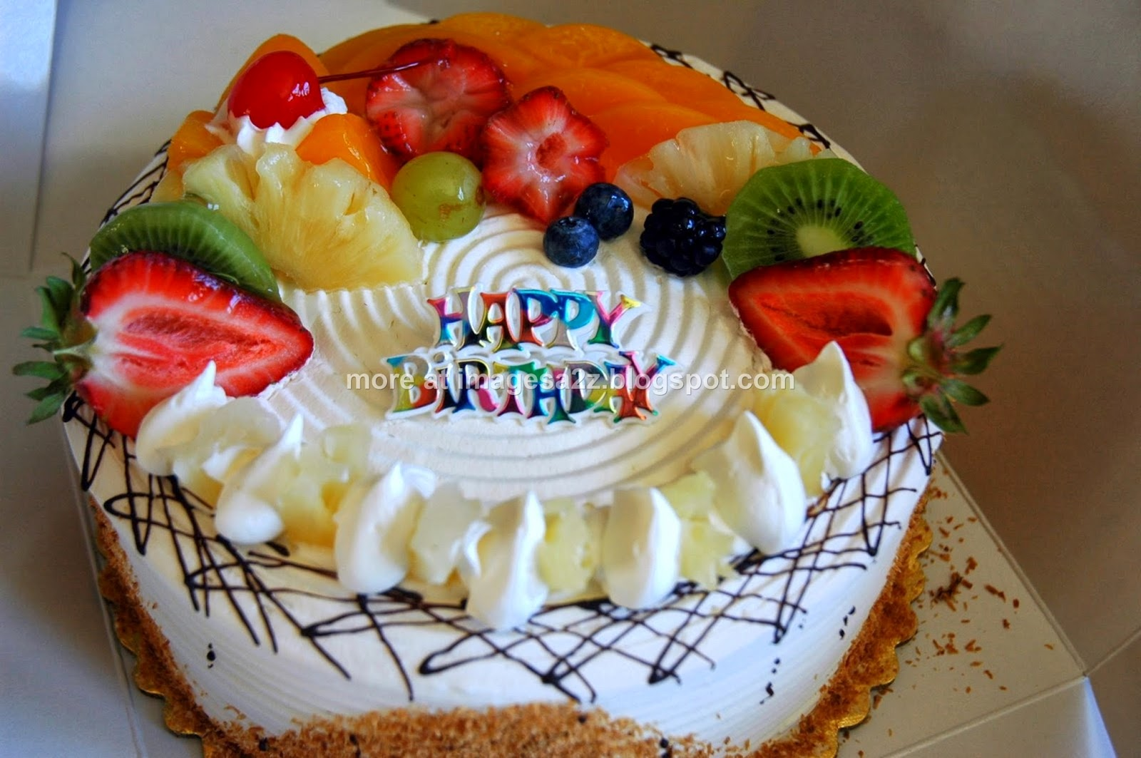 Images Of Cake With Wishes : birthday wishes for sister with cake images - happy ...